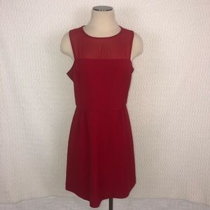 Banana Republic Red Dress Size 12P